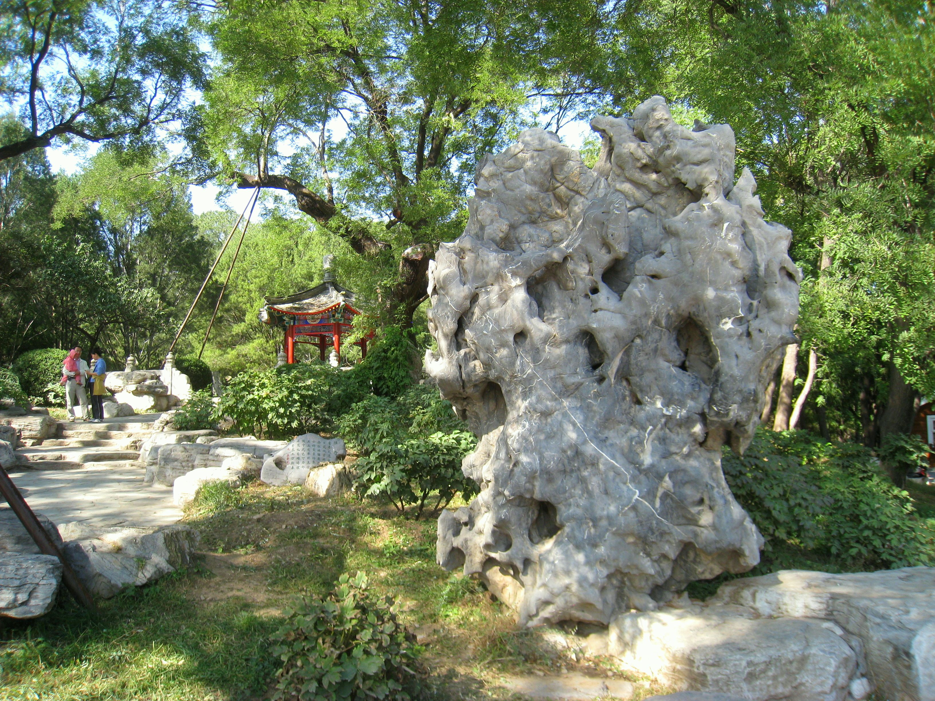 Fabulous Ideas Stylish Garden Design With Stone Home Design - chinese garden design is akin to