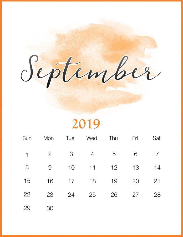 37+ Free printable watercolor calendar 2019 ideas in 2021