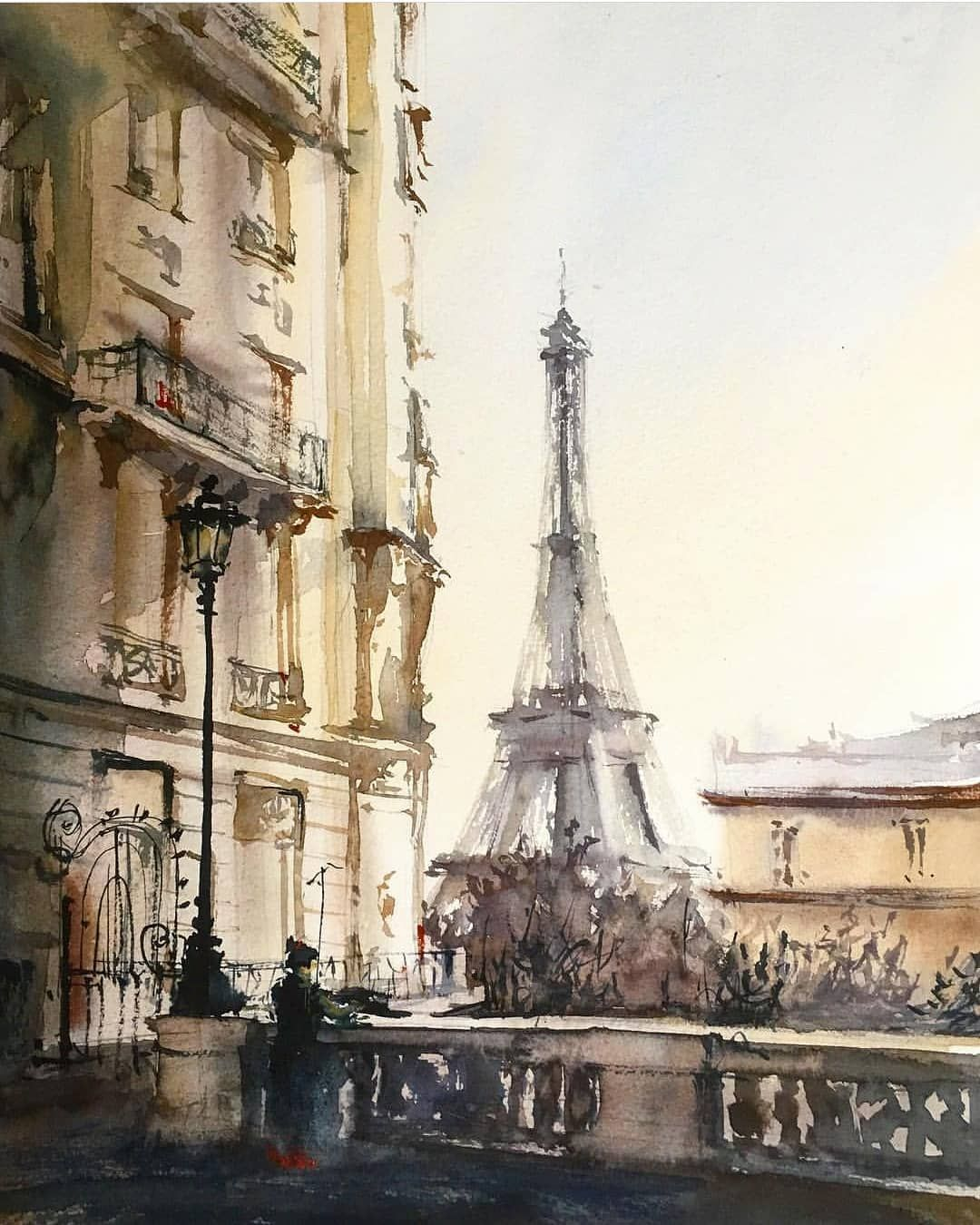 Watercolor Art On Instagram Watercolor By Darya Mita