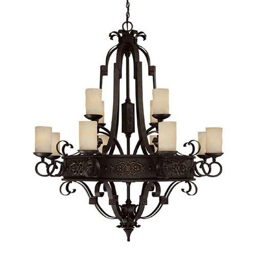 Capital lighting c3602ri125 river crest large foyer chandelier chandelier rustic iron at ferguson com