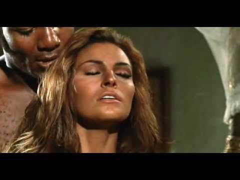 Raquel Welch Jim Brown Kiss Scene 100 Rifles 1969 Raquel
