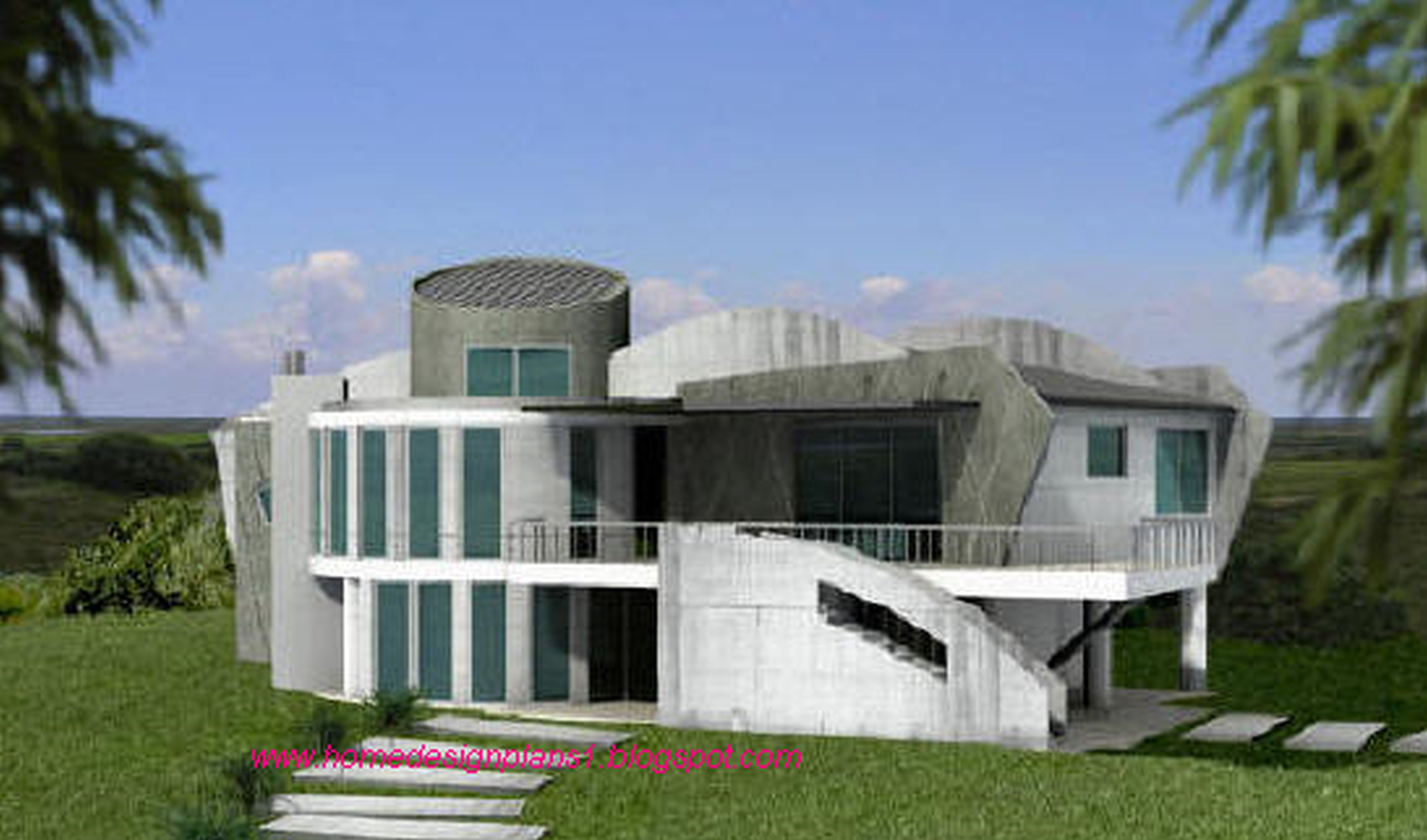 Modern Contemporary Luxury Home plans, Post Modern Custom House Architect,  Green design, Energy efficient blueprints