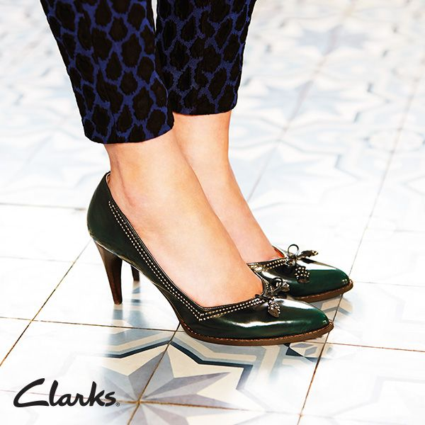 Clarks Autumn/Winter 2014 Collection | Deeta Bombay | Women's heels