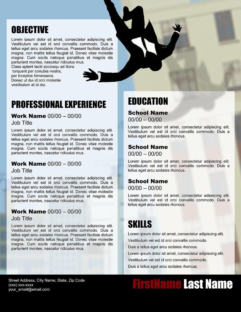 """Advertise"" Resume Template Creative resume templates"