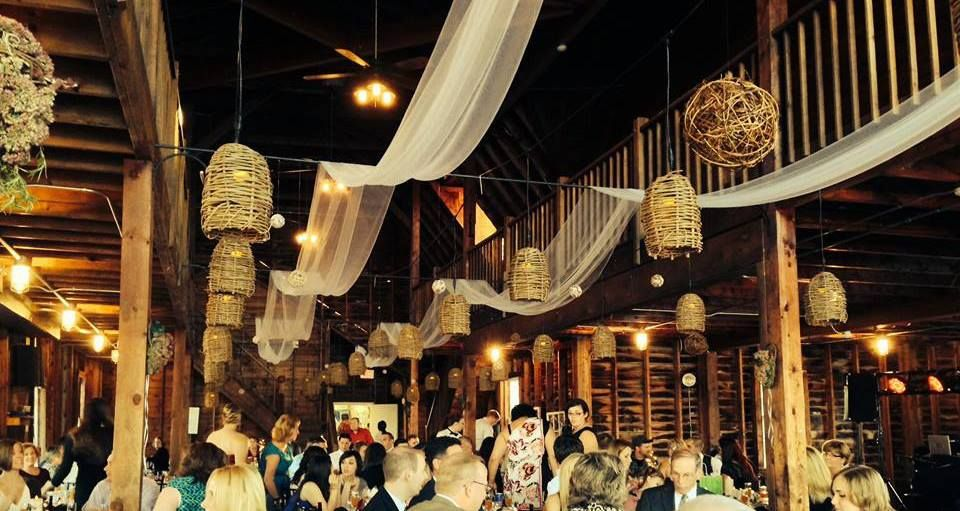 Our wicker lanterns at the valcour conference center boat