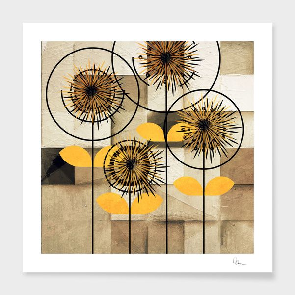 Discover «Flower power», Limited Edition Fine Art Print by Håkan  Årblom - From $29 - Curioos