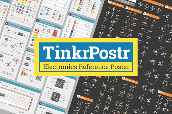 TinkrPostr Electronics Quick Reference Posters on Behance