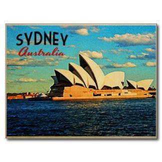 Retro Post Cards Postcard Templates Zazzle Uk