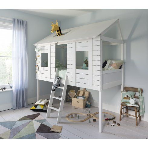 Christopher Midsleeper Treehouse Bed In White House Beds
