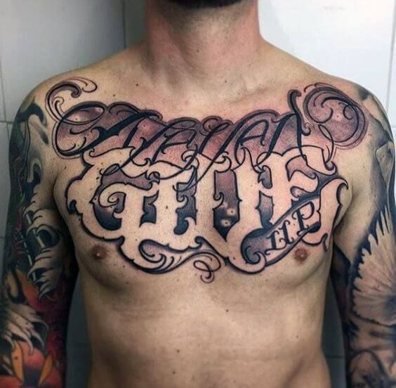 Tattoos For Guys, Tattoo Fonts