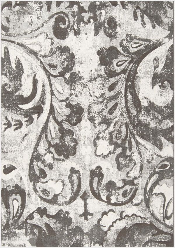 Surya Carpet, Inc. Contempo CPO-3707 Grey White