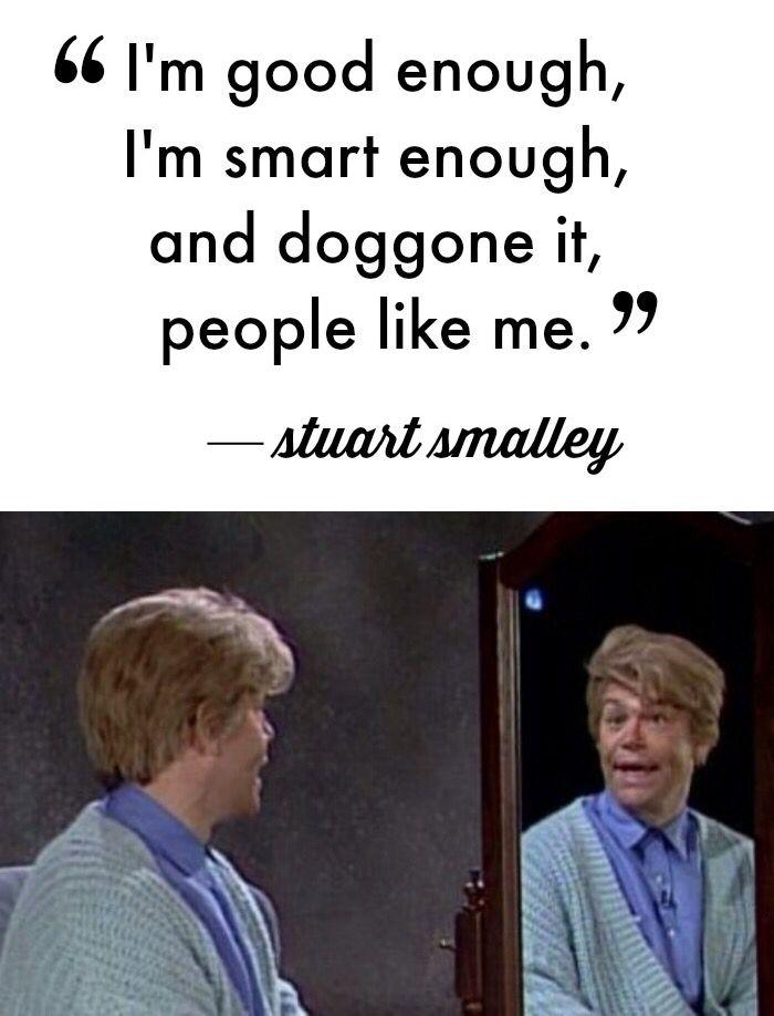 Stuart Smalley // SNL | Stuart smalley, Quiet people, Back ...