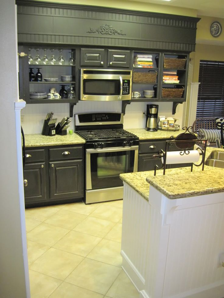 cabinets with soffits | Pinterest • The world's catalog of ...