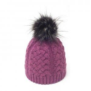 6a9f0a06ab0 Flat Cap · Blue · Beanie Hats · Beanies · Fashion · Melon · Le Web · le  bonnet pompon fausse fourrure 100% made in Europe. 100% fashion.