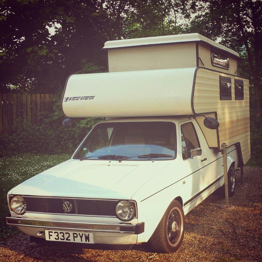 Volkswagen Rialta Reviews: My '88 Mk1 Vw Caddy, Tischer Caddycaemp Demountable Camper