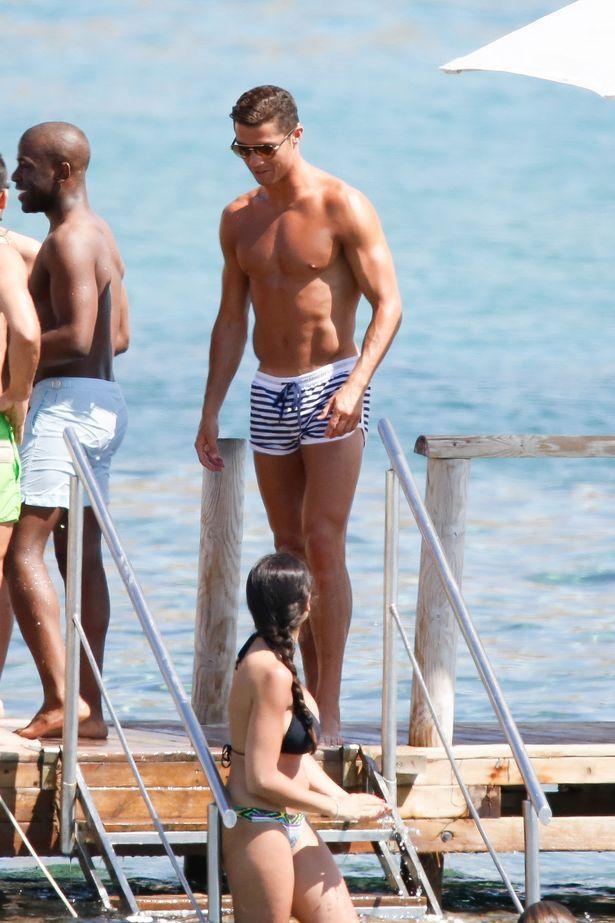 Cristiano Ronaldo Beach