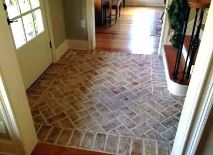 brick tile floor brick flooring