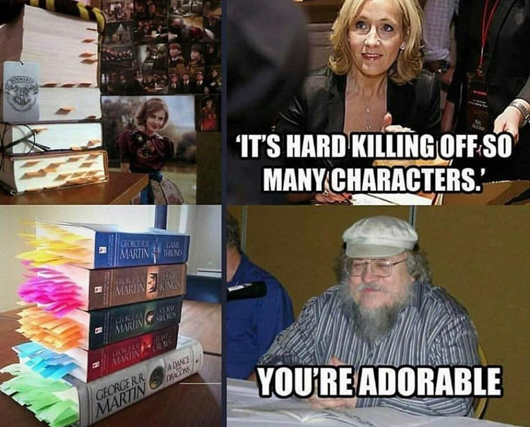 Harry Potter Vs Game Of Thrones Game Of Thrones Funny Harry Potter Funny Harry Potter Memes