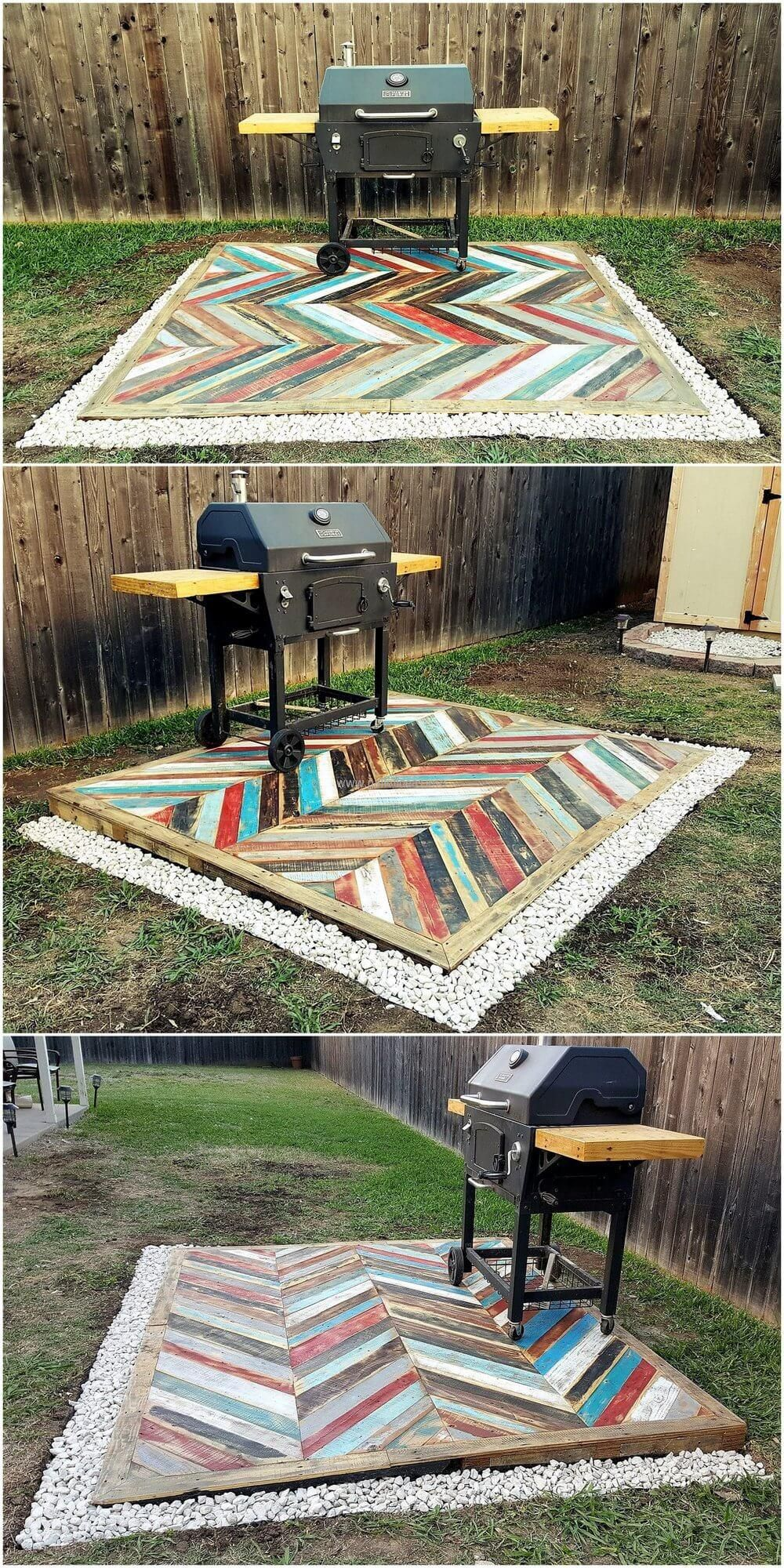 Recycled Pallets Wooden Garden Deck Pallet Furniture Outdoor