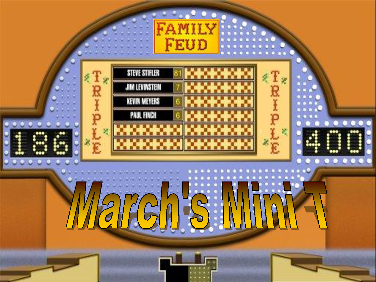 Family Feud Powerpoint Template  Classroom Game This Family Feud