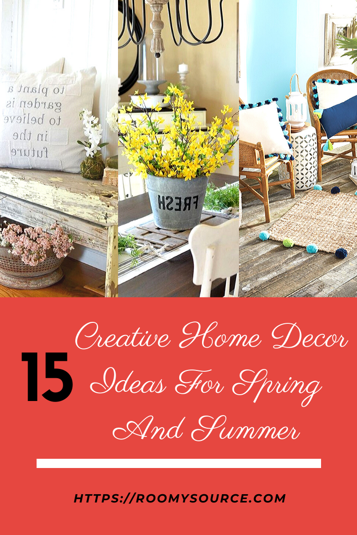13 Best Home Decor Ideas For Spring And Summer Home Decor Creative Home Natural Home Decor