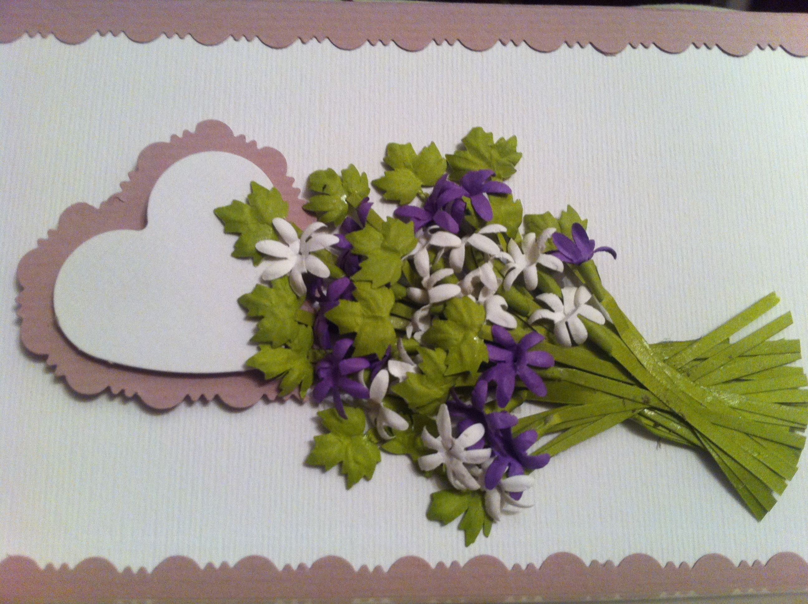 My Floral Punch Craft Work Paper Flowers