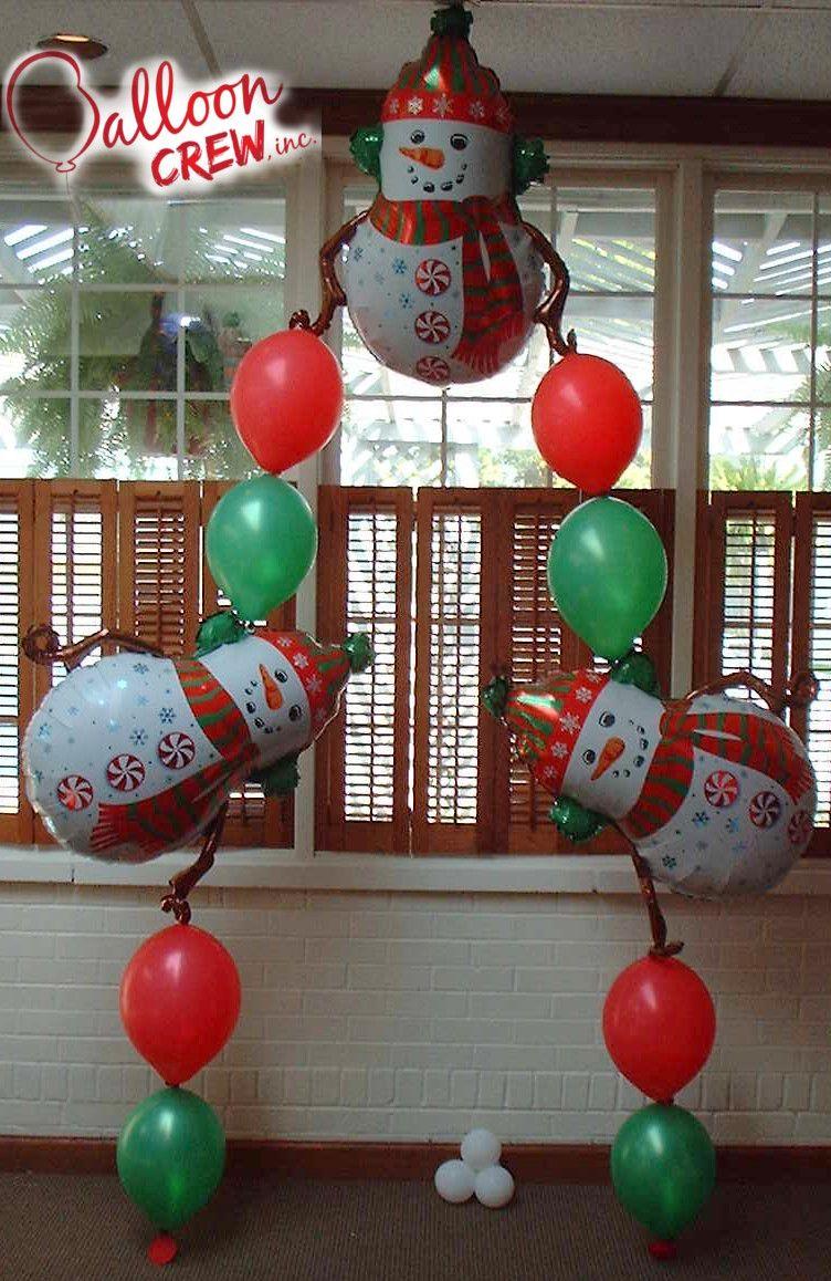 Snowman Mylar Balloon Christmas balloons, Holiday balloons