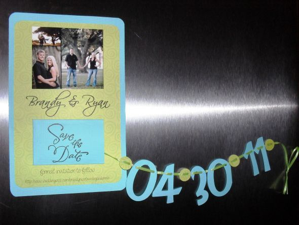 Save The Date Magnet Wedding Cricut Diy Invitations Magnet