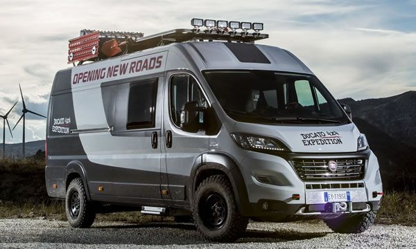 Fiat Ducato 4x4 Expedition Camper Show Van With Images