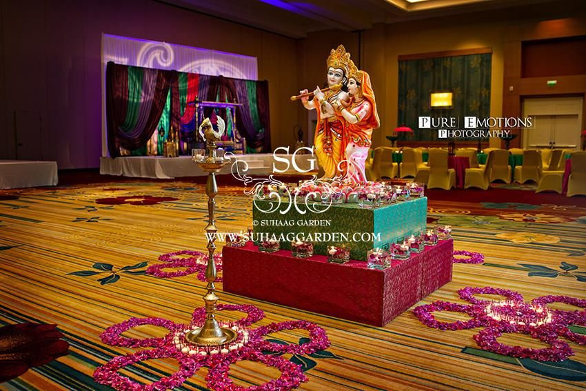 Suhaag Garden Indian Florida Wedding Decorators Event