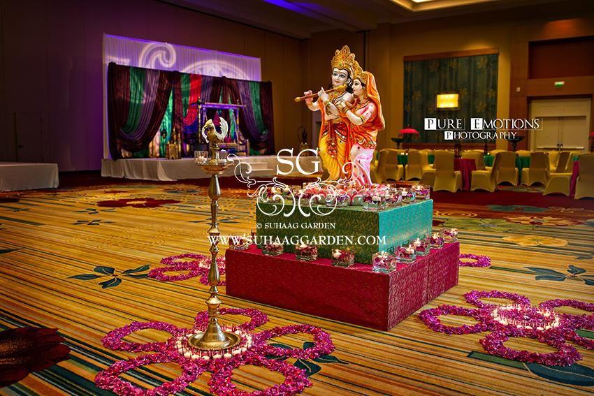 Suhaag Garden Indian Florida Wedding Decorators Event