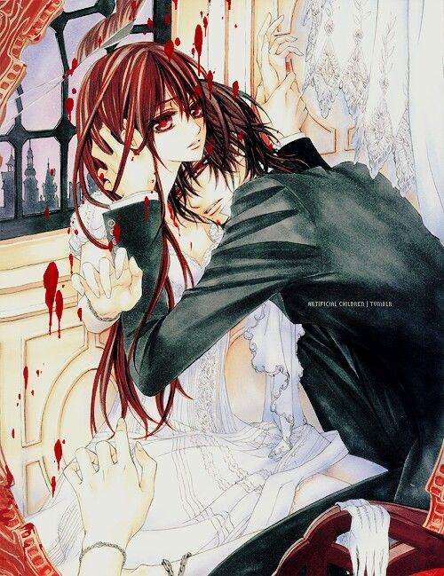 Yuki and Kaname | Anime! | Vampire Knight, Knight, Yuki ...