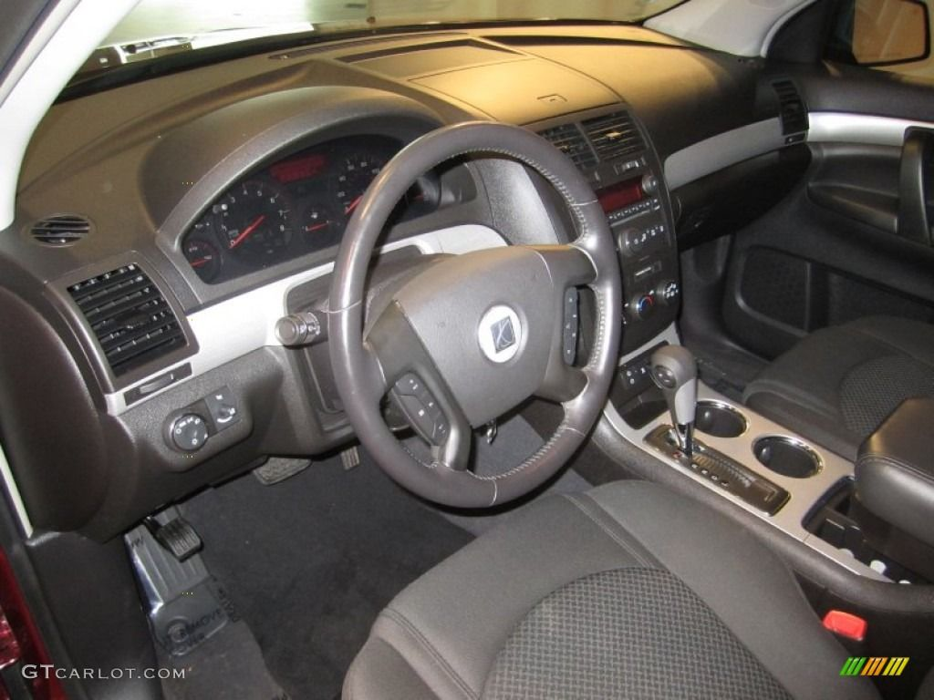 Black Interior Saturn Outlook Cars Interior Black Cars