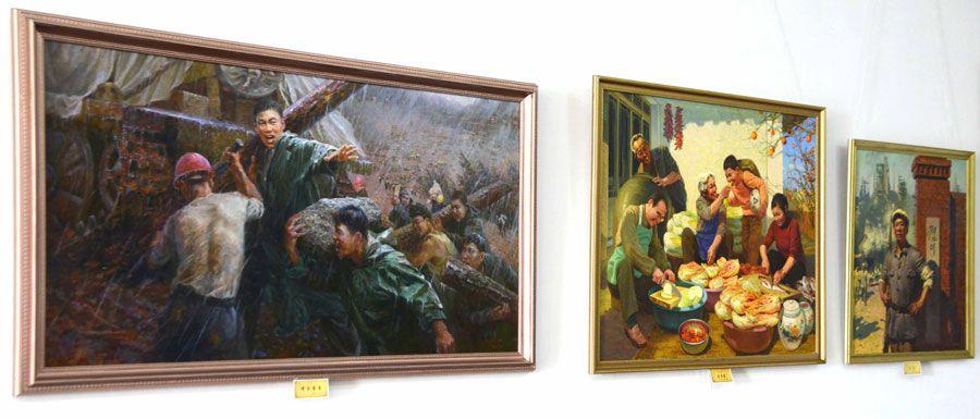 중앙미술창작사창립 30돐 미술전시회 개막-《조선의 오늘》