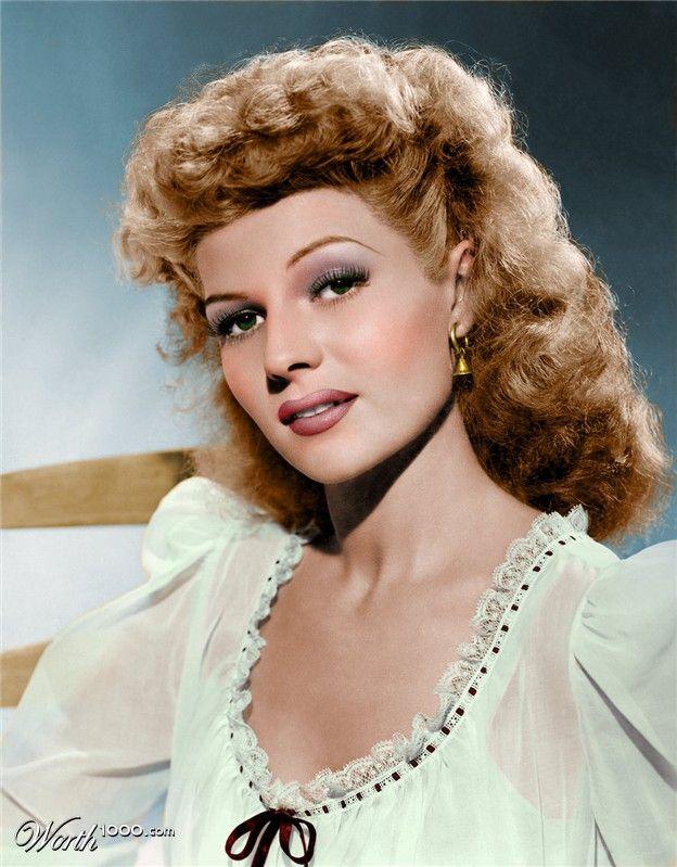 H6H: Pleasantville - Rita Hayworth: Team Color Pencils ...
