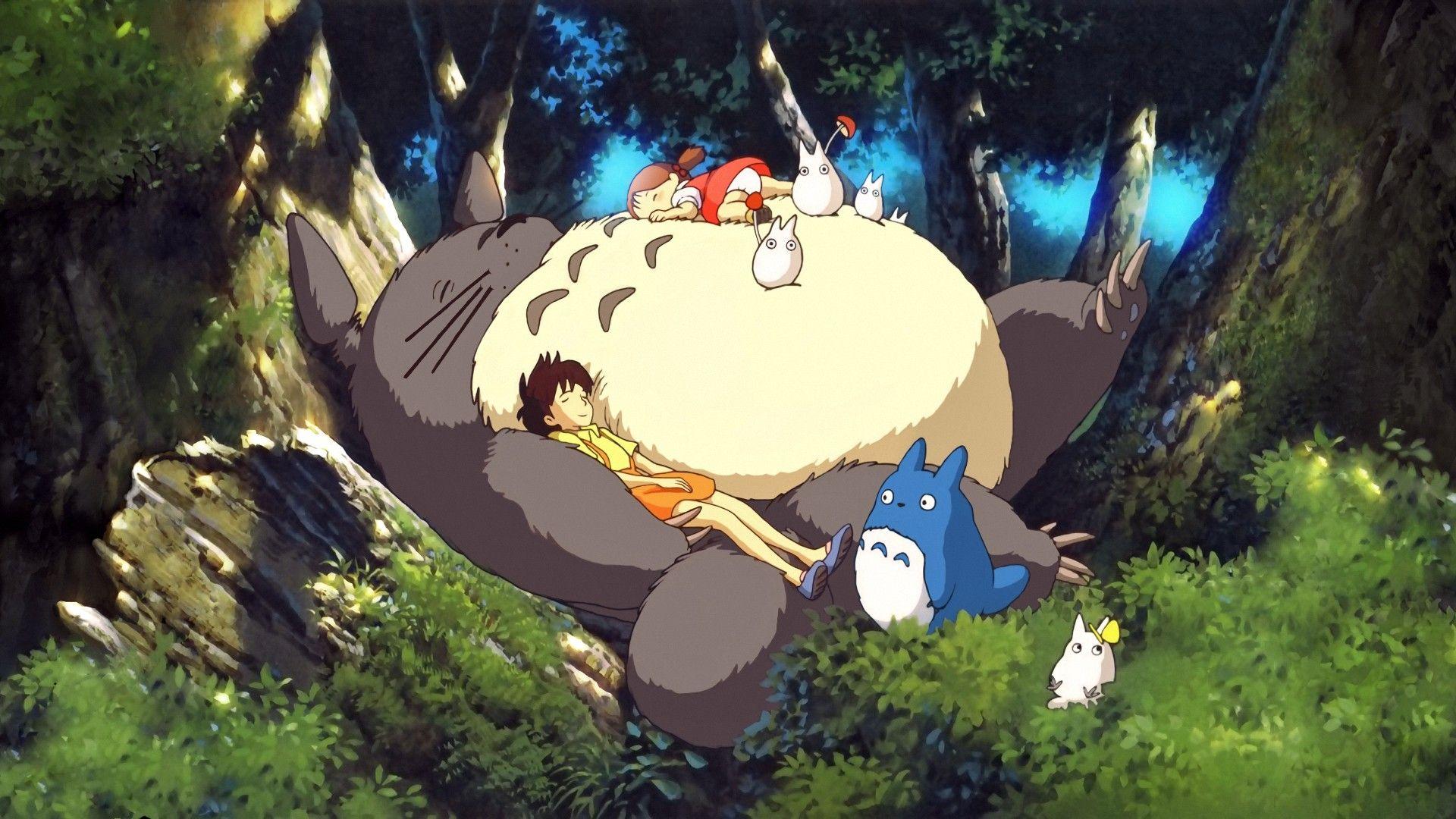 Totoro Studio Ghibli My Neighbor Totoro Anime Wallpaper 画像あり トトロ 宮崎駿 スタジオジブリ