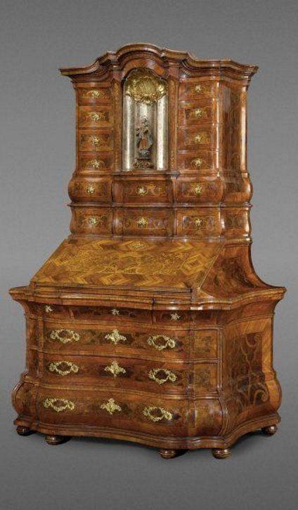 tabernakelsekret r kloster kaisheim bei donauw rth um 1740 deutsche m bel des 18 jahrhunderts. Black Bedroom Furniture Sets. Home Design Ideas