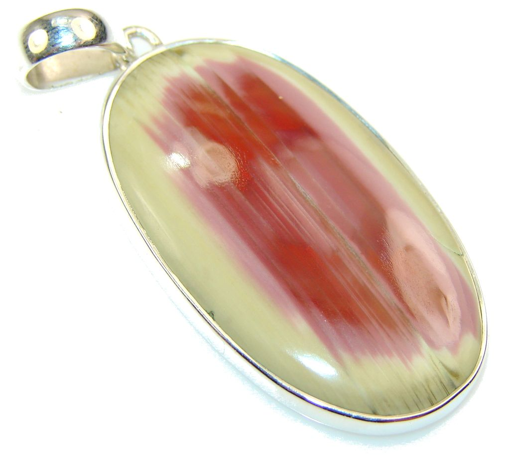 Unique Wild Horse Jasper Sterling Silver Pendant - 12.00g | $87.15 best price at Silver Rush Style!