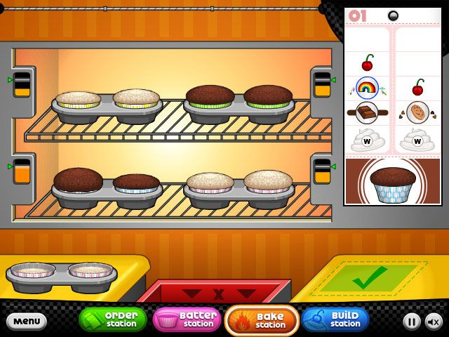 Baking Cupcakes On Papa S Cupcakeria Www Primarygames Com These