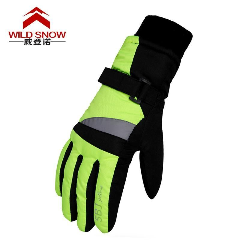 Kids Toddler Snow Mittens Children Warm Ski Gloves Winter Outdoor Sports Snowboarding Snow Gloves Waterproof Wrist Skiing Cycling Riding Mittens Boys Girls Cold Weather Gloves Christmas Gifts