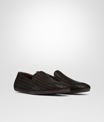 BOTTEGA VENETA FIANDRA SLIPPER IN ESPRESSO INTRECCIATO CALF Mocassin or Slipper U fp