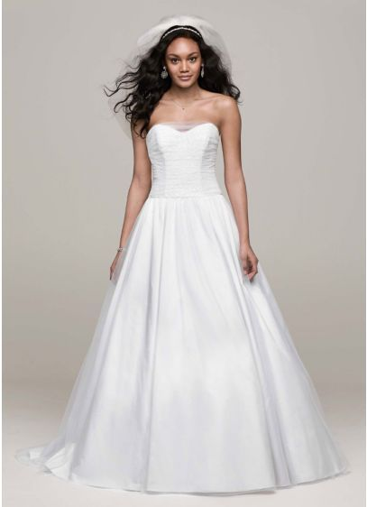 Strapless Tulle Ball Gown with Corset Back Style AI10012347 | Tulle ...