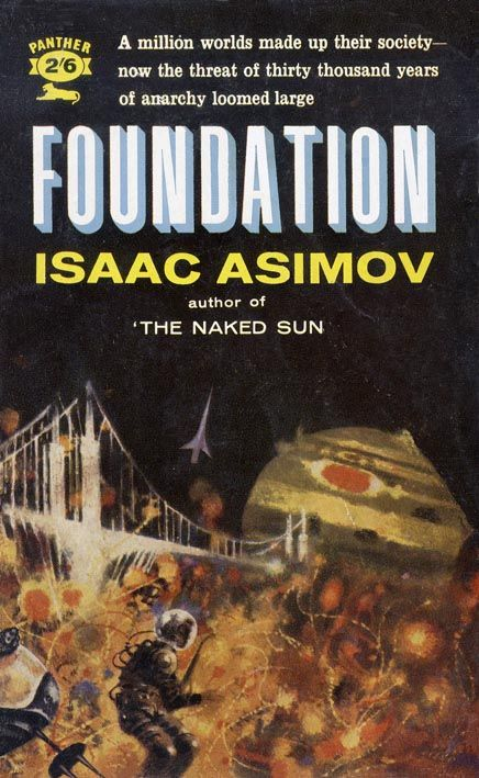 """foundation by isaac asimov Apple is developing a drama series based on the """"foundation"""" book trilogy by isaac asimov, variety has confirmed the potential series will be written and executive produced by david s goyer and josh friedman, who will also serve as co-showrunners skydance television is producing the series with."""