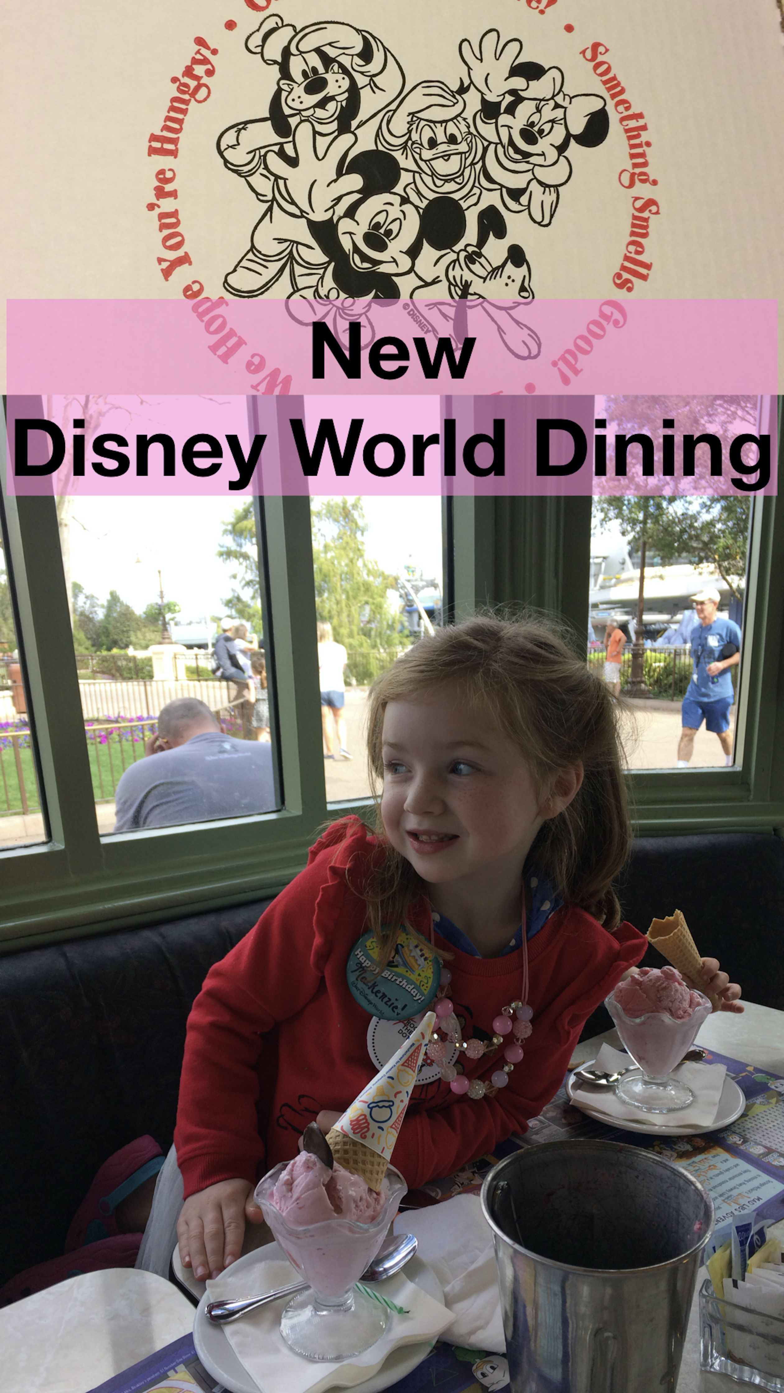 What's New In Disney Dining for 2019 Disney dining