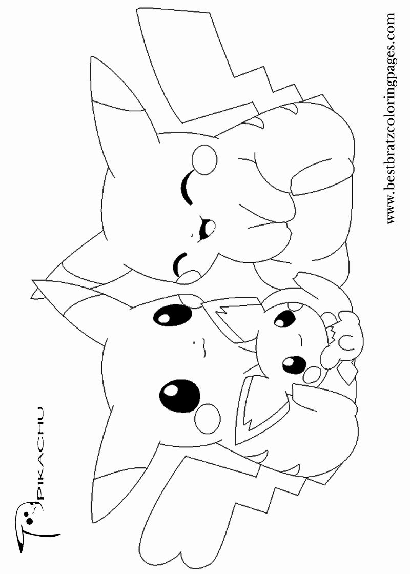 Kawaii Pokemon Coloring Pages New Pikachu Coloring Pages In 2020 Pikachu Coloring Page Pokemon Coloring Pages Pokemon Coloring