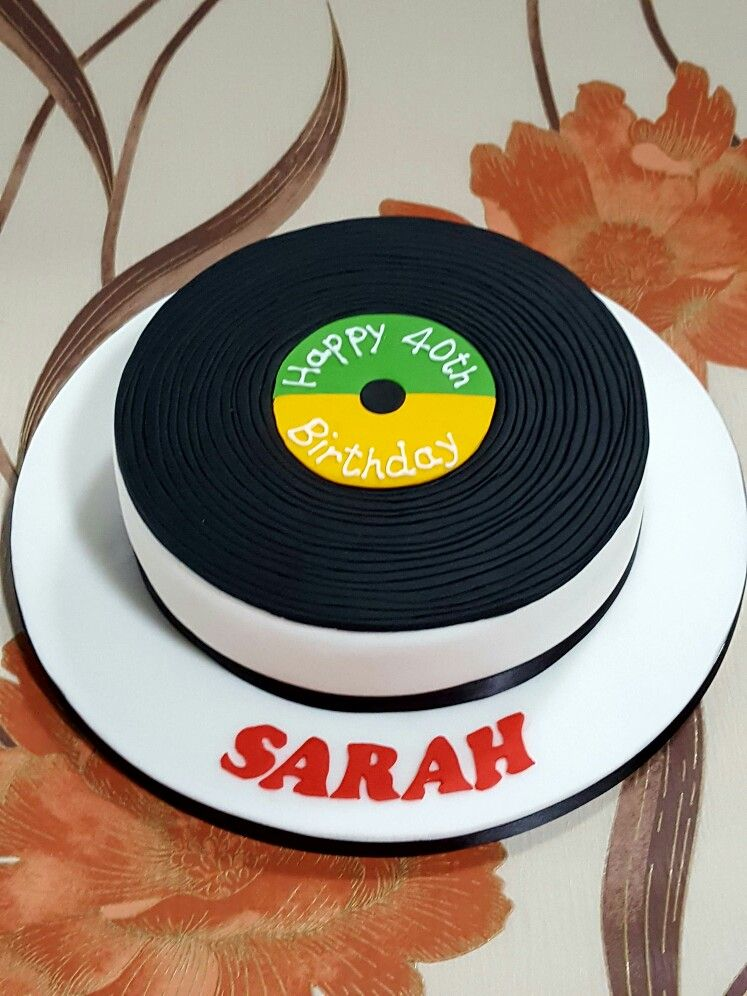 Vinyl Record Cake Record Cake Vinyl Records Vinyl