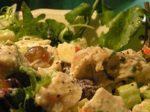 http://www.masteringtheflame.com/ - Smoked Turkey Salad