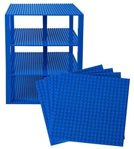 "[$19.99 save 43%] Amazon #LightningDeal 53% claimed: 10"" x 10"" Blue Stackable Construction Base Plates - 4 Pack ... http://www.lavahotdeals.com/ca/cheap/amazon-lightningdeal-53-claimed-10-10-blue-stackable/169143?utm_source=pinterest&utm_medium=rss&utm_campaign=at_lavahotdeals"