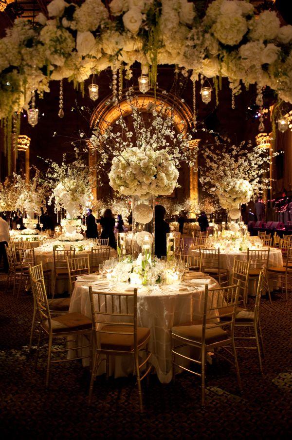 Stunning Winter White Wedding At Cipriani 42nd Street White