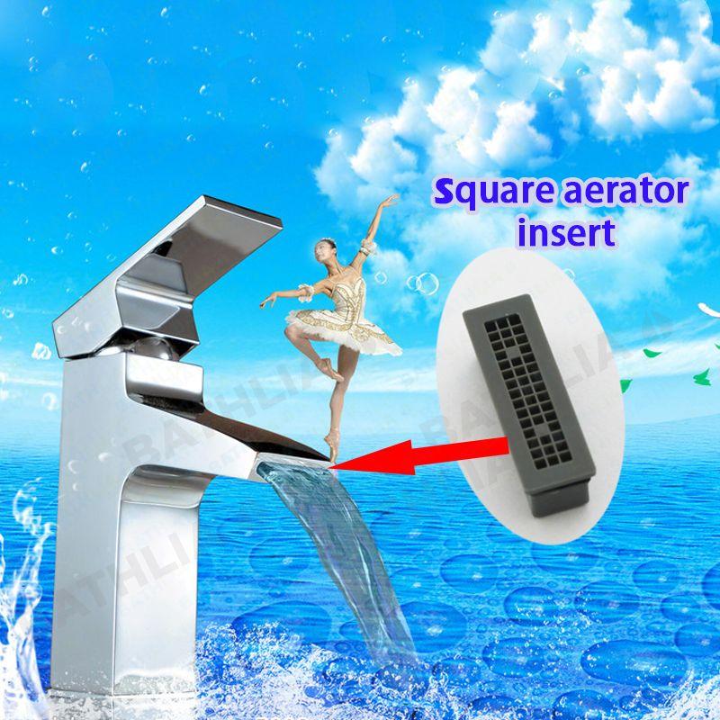 Faucet Aerator Core Square Square Rectangle Faucet Aerator Insert Pom Faucet Spout Prelator Bubble Filter Aerator Fo Faucet Aerators Bathroom Fixtures Aerator